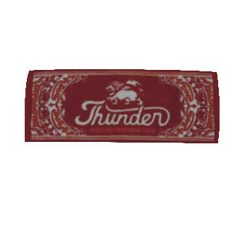 THUNDER TOWEL/RED